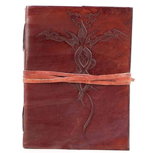 Vintage Handmade Leather Journal - Tara - Vintage Leather