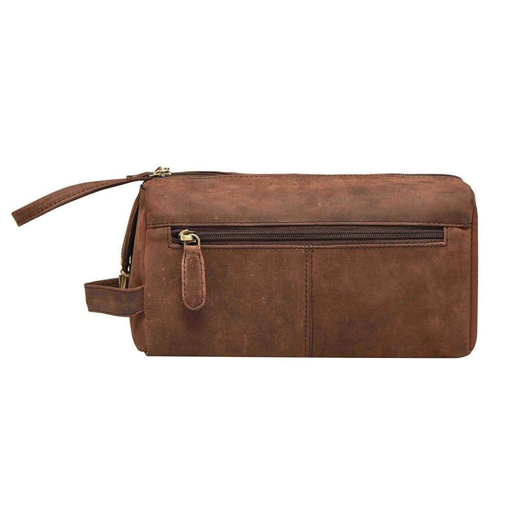 Toiletry Bag - Johnson - Vintage Leather