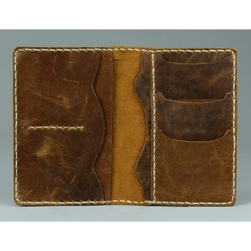 Vintage Leather Sydney_passport leather wallet_005