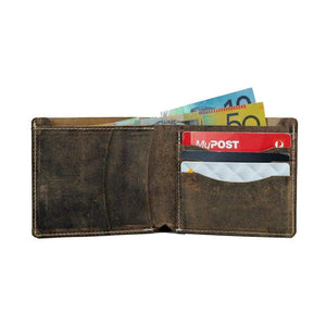 Vintage Leather Mens Wallet -  Lasaro - Vintage Leather