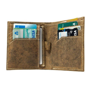 Vintage Leather Mens Wallet -  Ontario - Vintage Leather