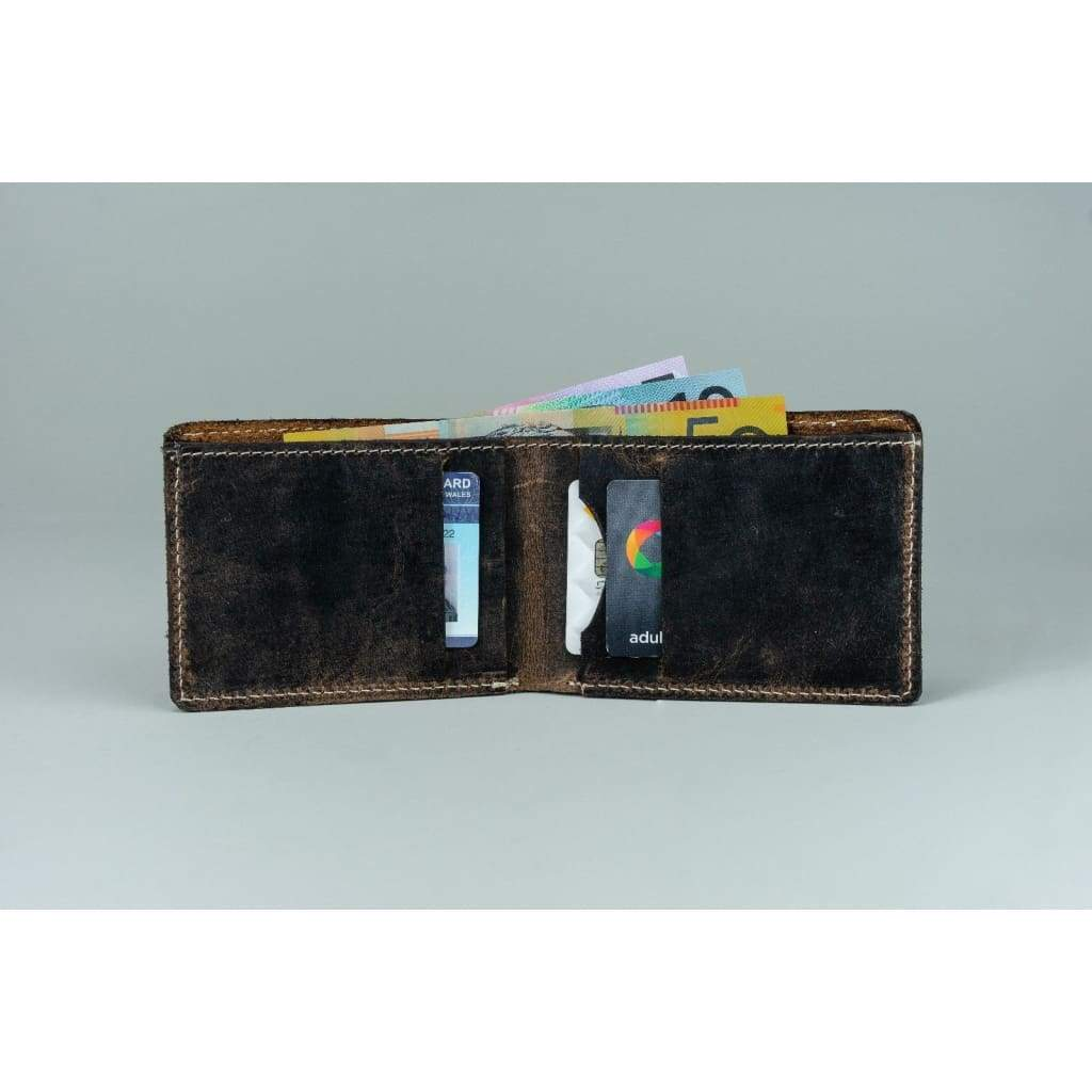 Vintage Leather Mens Wallet - Zane - Vintage Leather