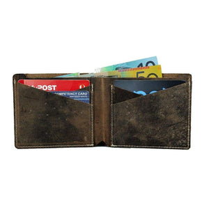 Vintage Mens Leather Wallet - Bali - Vintage Leather