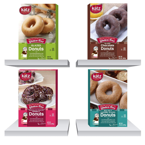 Katz Gluten Free Best Seller Donut Multi Pack