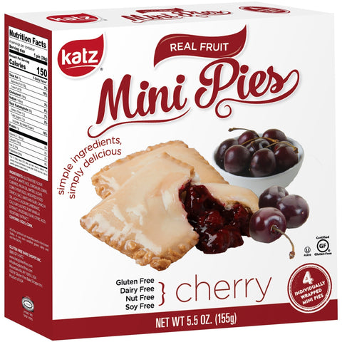 Katz Gluten Free Cherry Mini Pies
