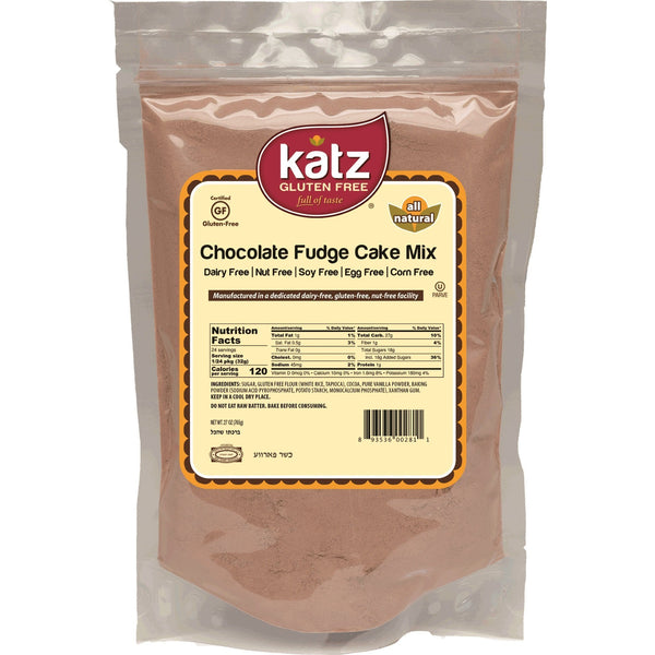 Katz Gluten Free Chocolate Fudge Cake Mix