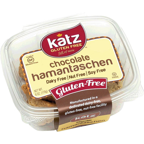 Katz Gluten Free Chocolate Hamantaschen