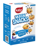 Katz Gluten Free Container Blueberry Muffin Snacks