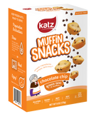 Katz Gluten Free Container Chocolate Chip Muffin Snacks