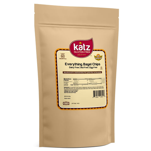 Katz Gluten Free Everything Bagel Chips
