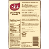 Katz Gluten Free Everything Bread