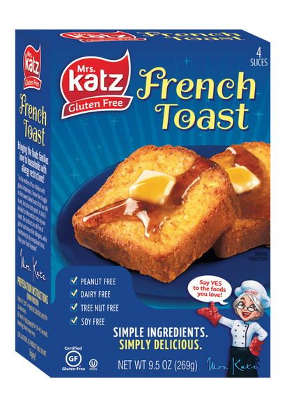 Katz Gluten Free French Toast