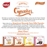 Katz Gluten Free Gingerbread Crème Filled Cupcakes