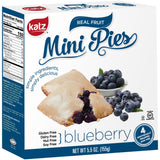Katz Gluten Free Mini Pies Red Blue And White
