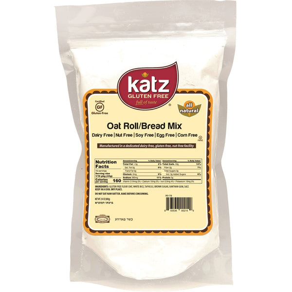Katz Gluten Free Oat Roll/Bread Mix