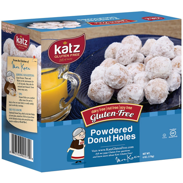 Katz Gluten Free Powdered Donut Holes