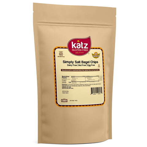 Katz Gluten Free Simply Salt Bagel Chips
