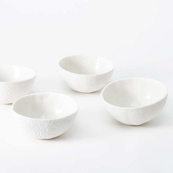 stone fruit bowls - set of 4