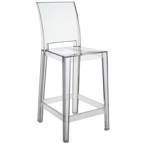 one more please counter stool (square back)