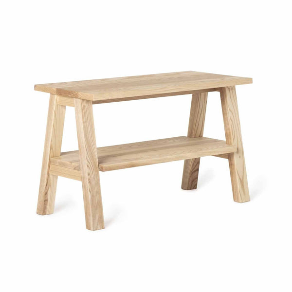 bench/table with shelf