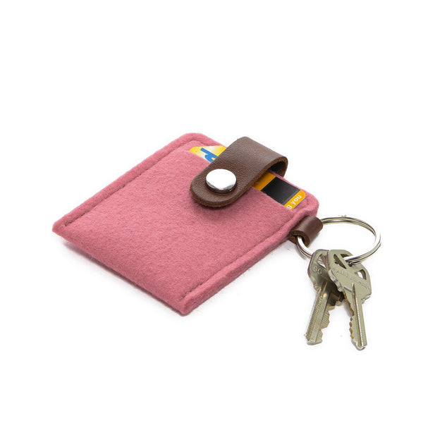 felt key / card case