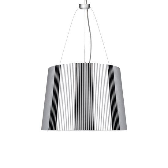 Ge' pendant lamp metallic