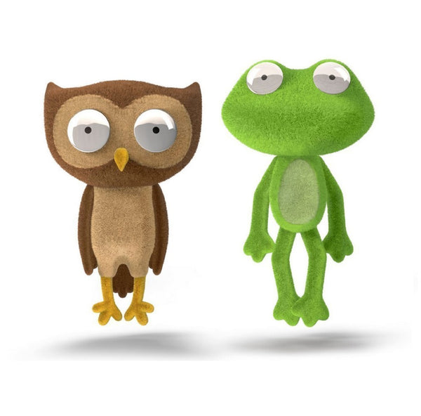 chimeras owl & frog