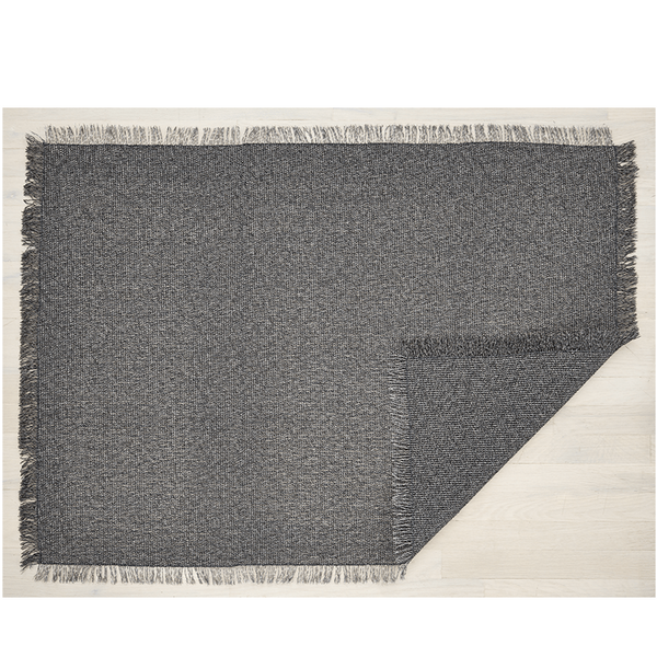 woven market fringe  indoor/outdoor mat