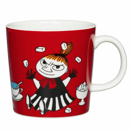moomin little my red mug