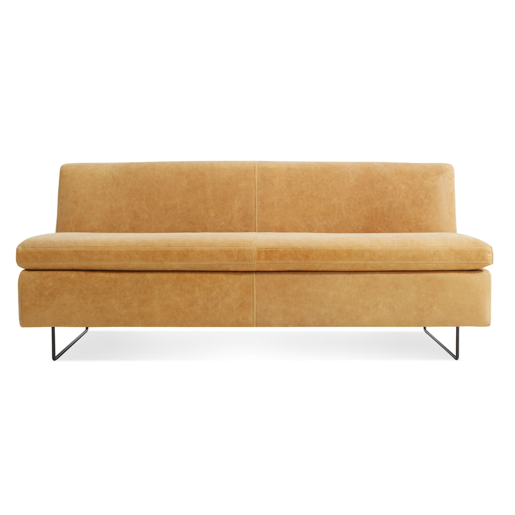 "clyde leather 67"" sofa"