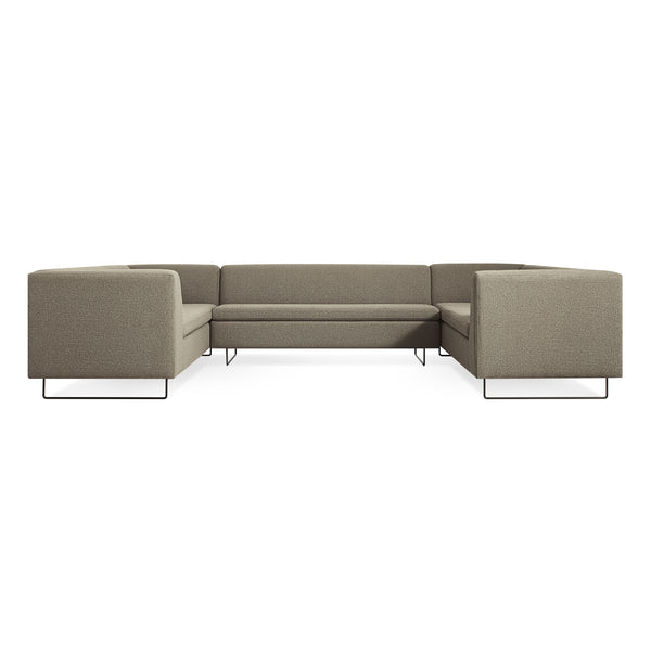 bonnie and clyde U shape sectional