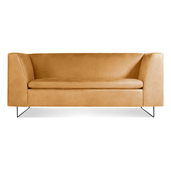 "bonnie leather 72"" sofa"
