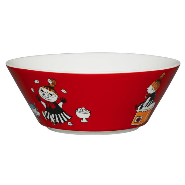 moomin my little red bowl