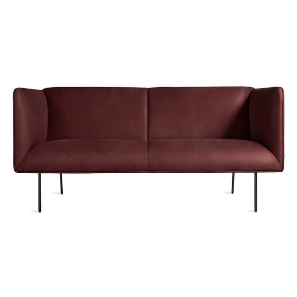 "dandy leather 70"" sofa"