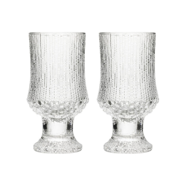 ultima thule goblet glass set of 2