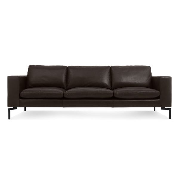 "new standard leather 92"" sofa"