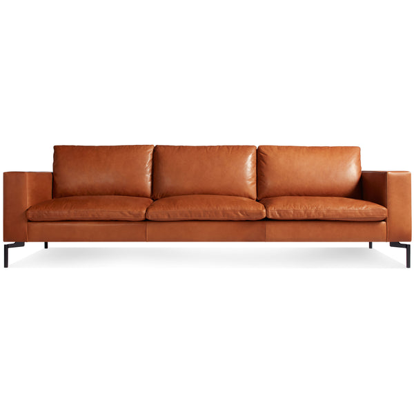 "new standard leather 104"" sofa"