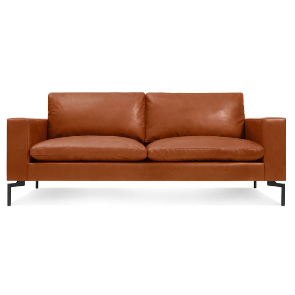 standard leather condo sofa