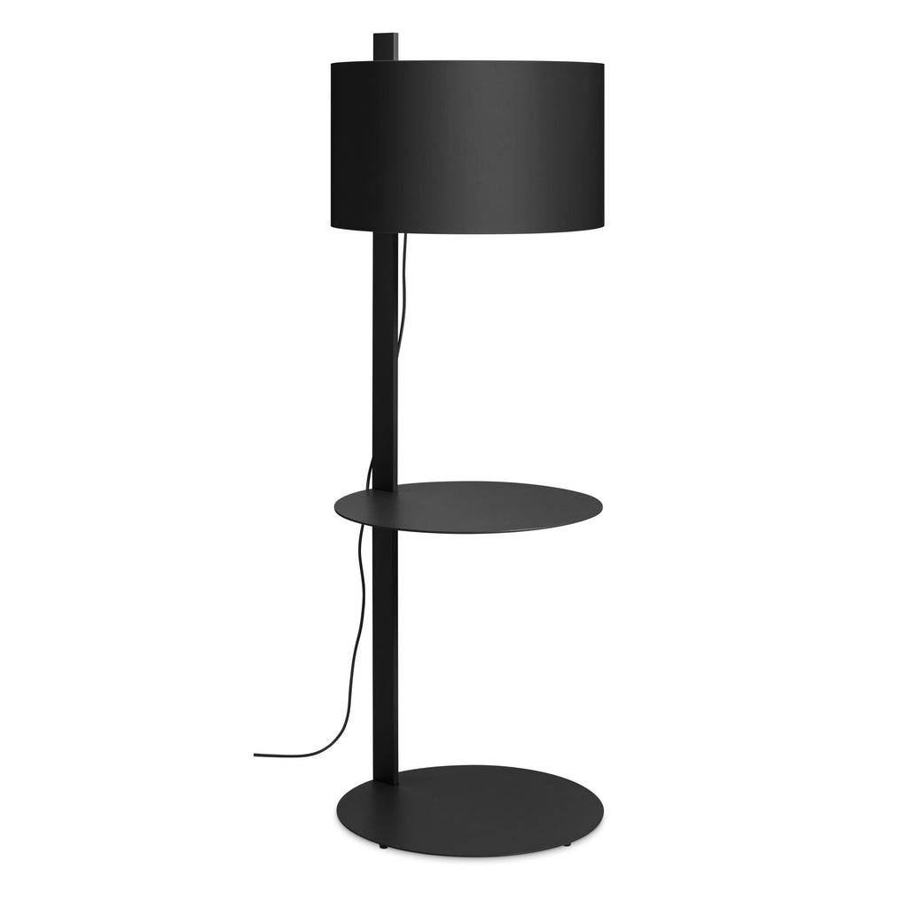 note large floor lamp with table