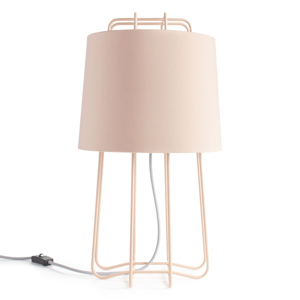 perimeter table lamp - blush (outlet)