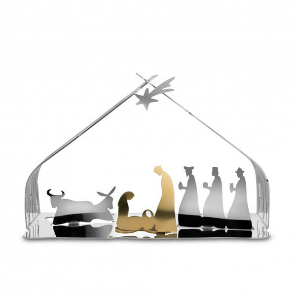 bark crib nativity