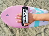 Slyde The Phish Bubblegum Handboard for bodysurfing with GoPro Attachment