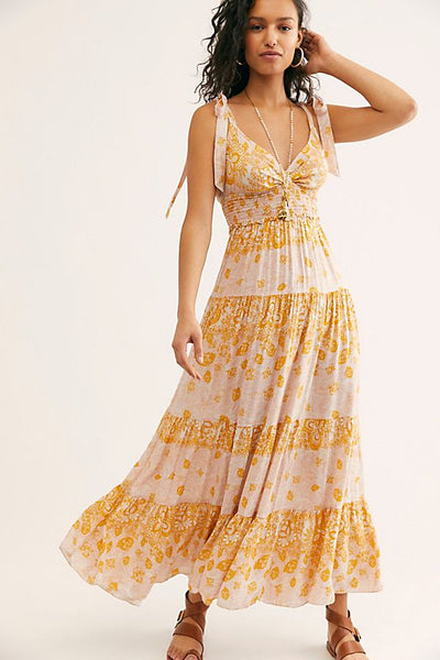 Let's Smock About It Maxi Slip