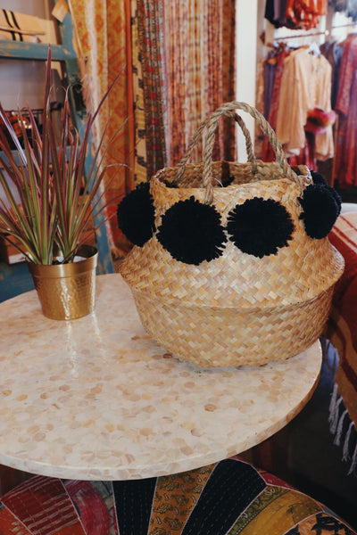 Spice It Up Pom Pom Basket
