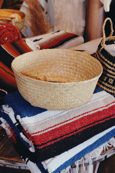 Not So Basic Woven Basket