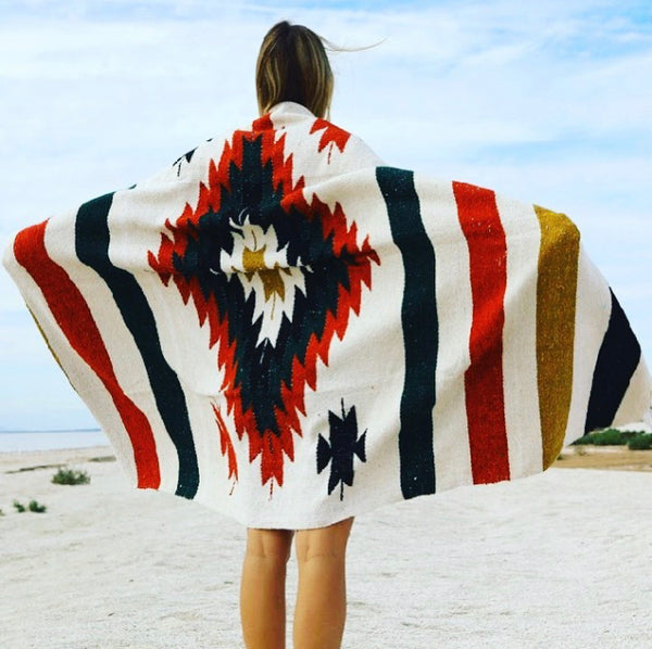 Aztec Diamond Blanket