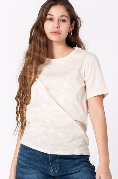Brushed Cotton Tee