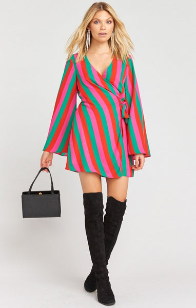 Caleb Mini Dress // Feliz Stripe