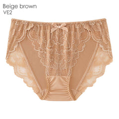 LACE BIKINI PANTY (VE2-Beige brown)