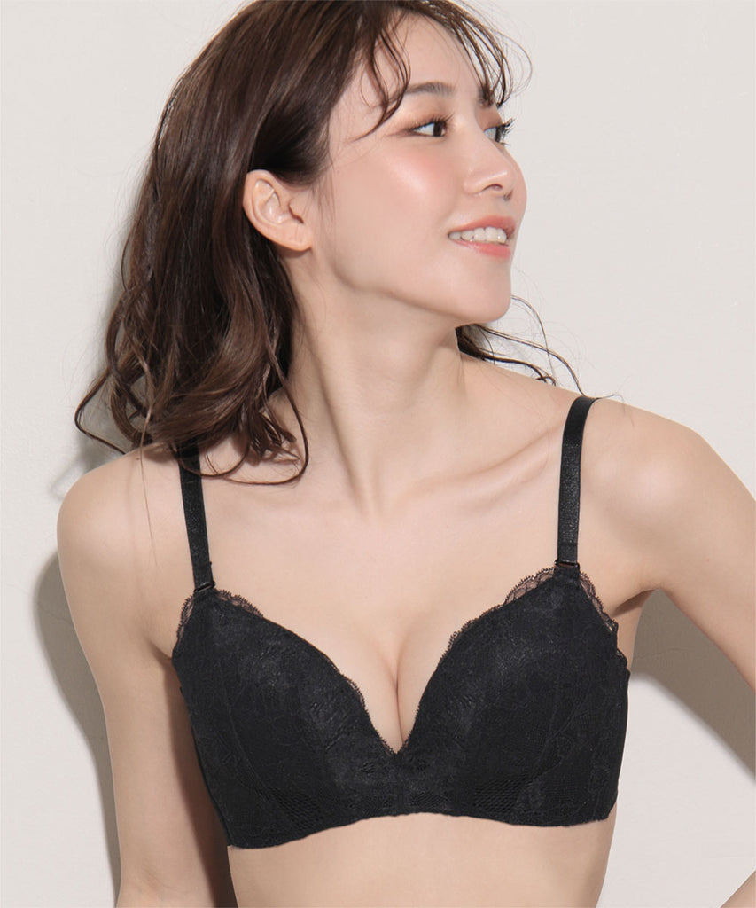 Maximum Boost Bra CHOMORI BRA(R) Soft With Lace